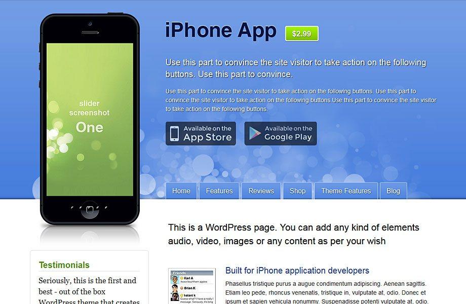 iphoneapp Theme