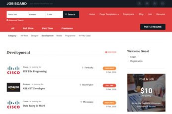 Templatic Classifieds Directory WordPress theme