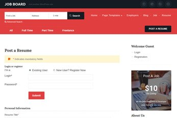 Jobs Directory WordPress theme