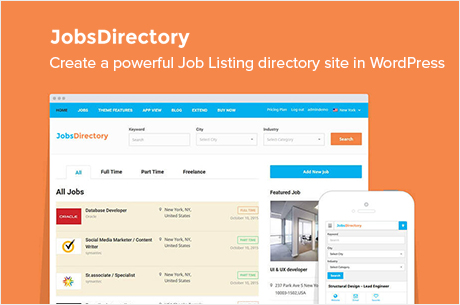 Job Directory Wordpress Theme