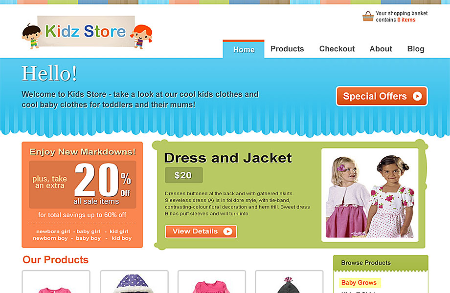 Update How To Create An Ecommerce Website With Wordpress Online Store 2018 New: Kidz Store ECommerce Premium Theme [2018]