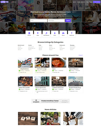 WordPress Themes For Directory - Templatic