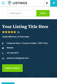 Responsive Listing Directory Theme