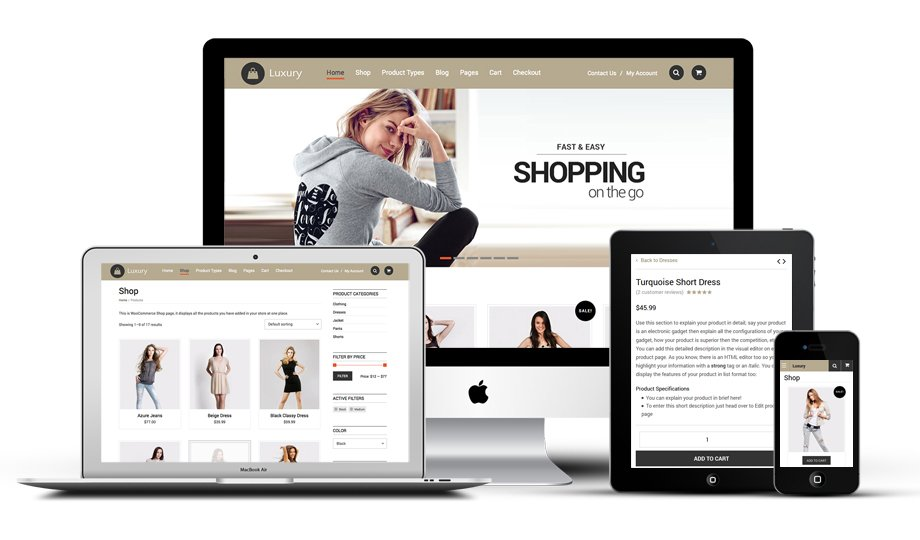 Templatic Luxury Responsive WordPress Theme