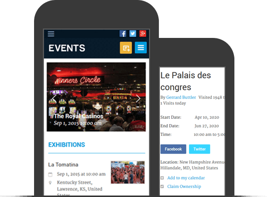 Responsive Mobile Friendly WordPress Event Theme