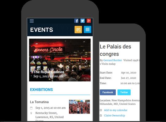 Responsive Mobile Friendly WordPress Event Theme