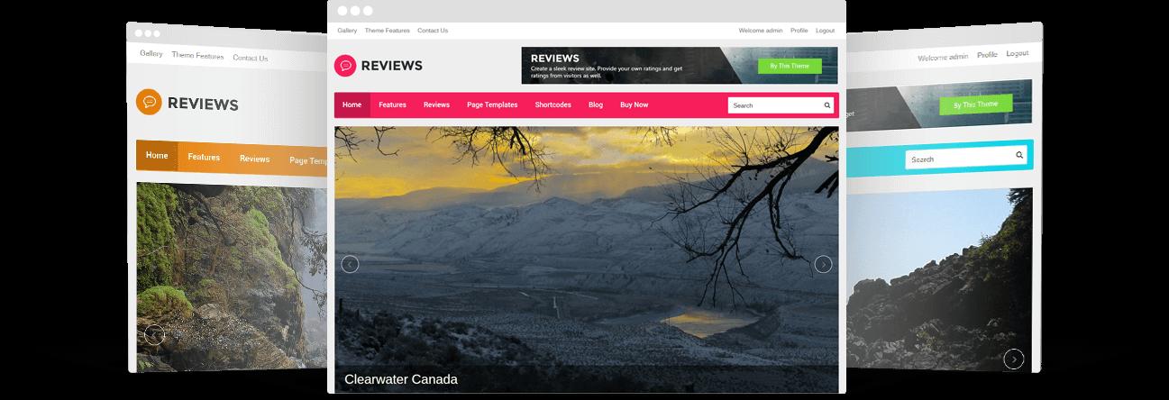 WordPress Reviews Theme