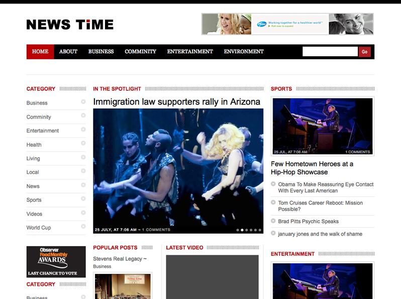 Newstime Theme