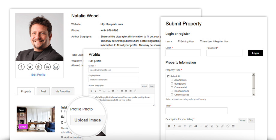 Real Estate Plugin | Directory Theme Property Add-on