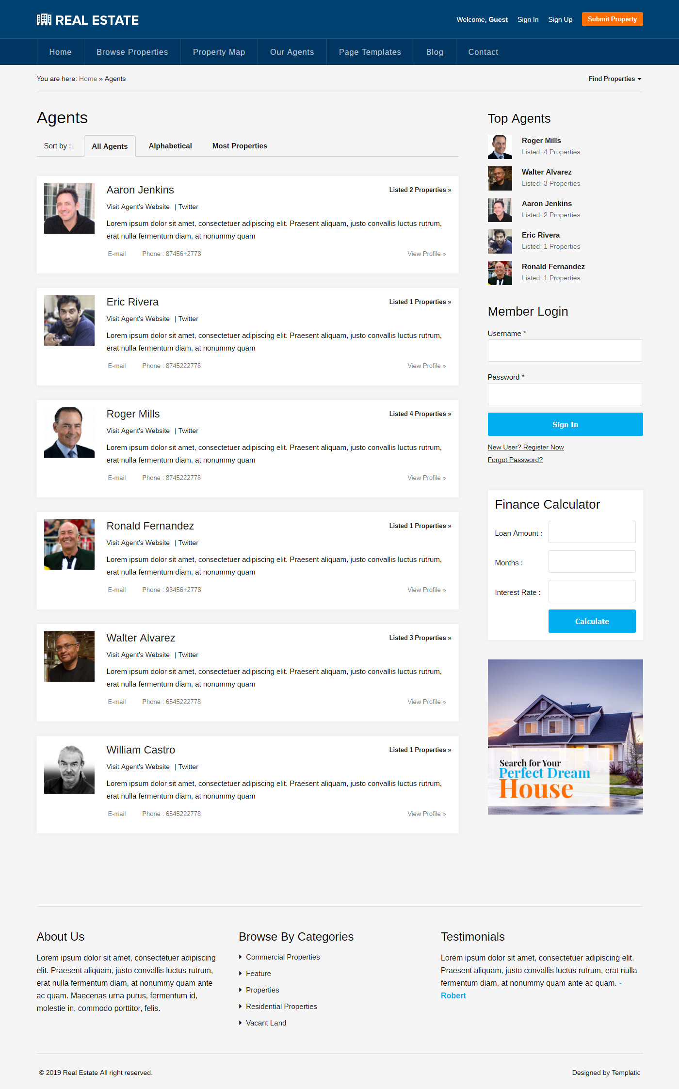 Best Real Estate WordPress Theme [2019] | Property Listings