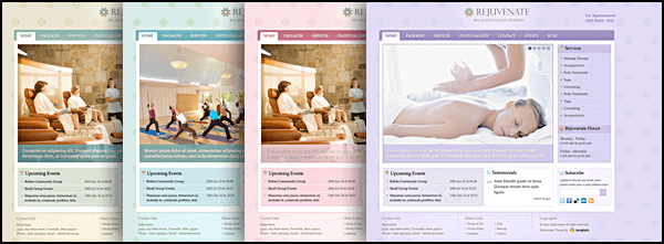Rejuvenate - Spa WordPress theme