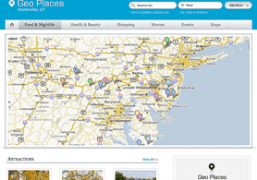 Business Directory Wordpress Theme - Geo Places