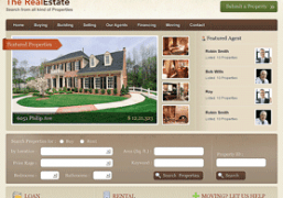 Property Listings WordPress Theme - Real Estate