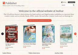 Theme For Publishers And Book Writers