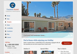 Vacation Rentals Wordpress Theme