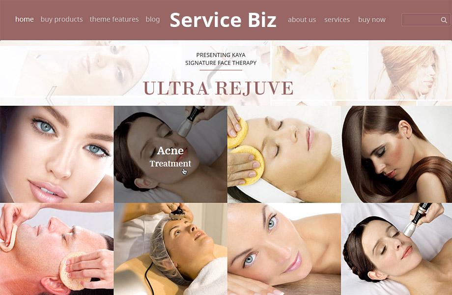 service-biz Theme