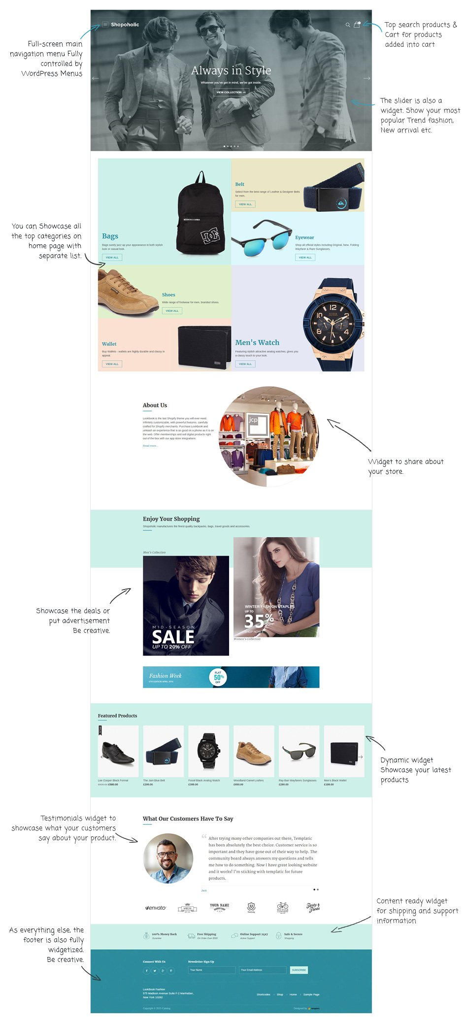 Shopaholic/Shopoholic WooCommerce Theme