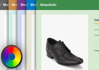 Customized Color Scheme - Shopoholic Theme