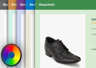 Customized Color Scheme - Shopoholic Theme