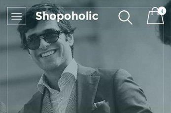 Shopaholic Theme with WooCommerce Plugin
