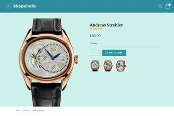 Product detail Page - Shopoholic Ecommerce Theme
