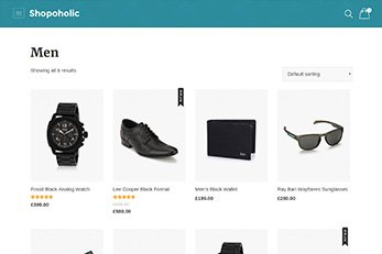 Category Grid View - Shopoholic Ecommerce Theme