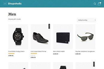 Category Grid View - Shopoholic Ecommerce Theme