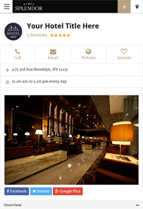 Hotels Directory Theme