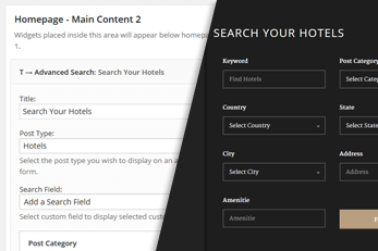 WordPress Hotel Theme With Power Search