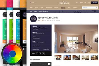 WordPress splendor Theme