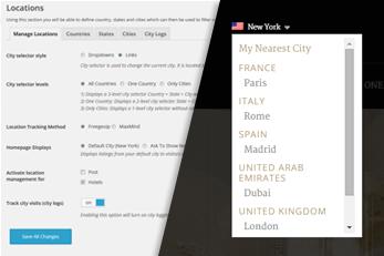 WordPress Hotels Theme With Custom Locations