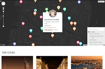 The Responsive Splendor Hotels Directory WordPress Theme