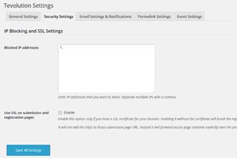 WordPress Splendor Theme With Security Options