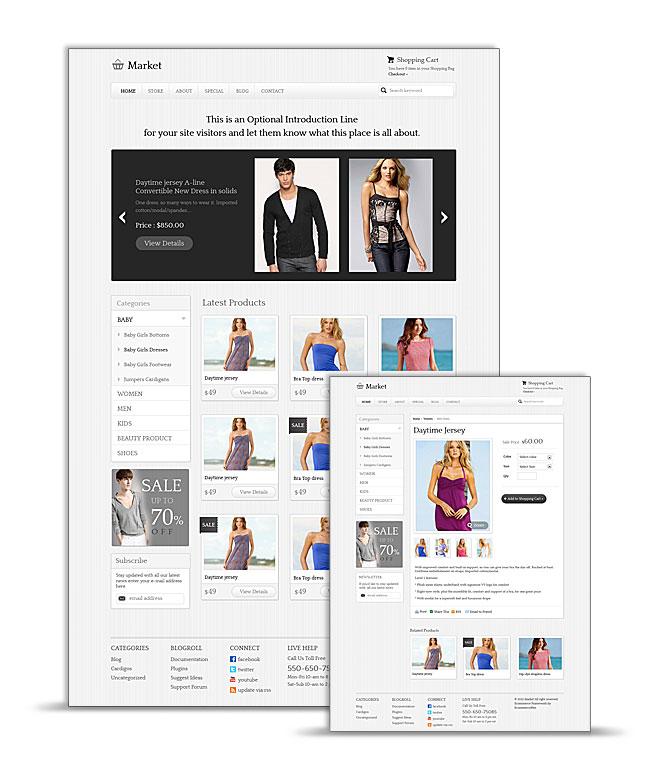 eMarket Theme for WordPress