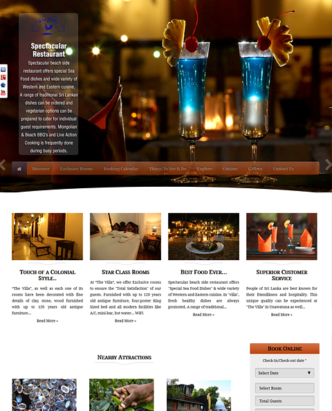 5Star, hotel websites, Booking and reservation