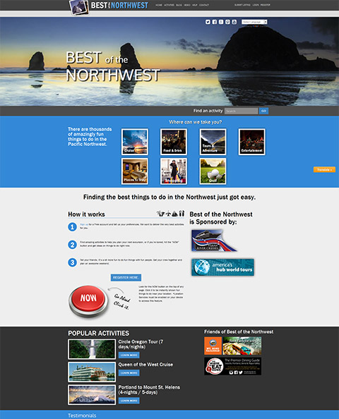 bestofnorthwest, travel directory website