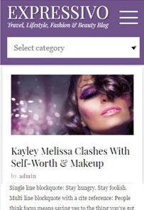 Expressivo WordPress Theme