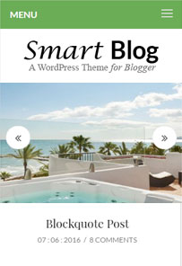 Smart Blog Multi Concept Blog Theme From Templatic [2018]