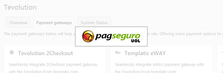 PagSeguro Brazilian Payment Gateway Plugin