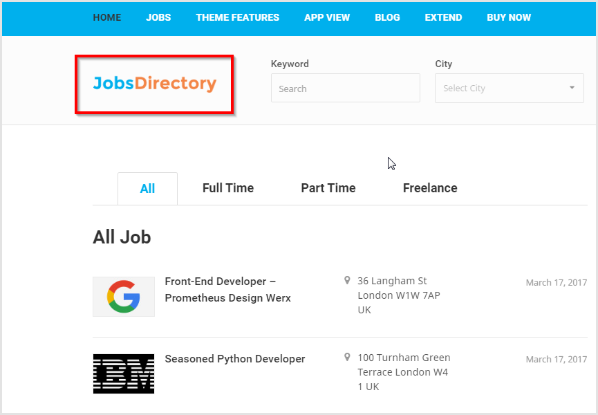 How to create job search website in WordPress - a beginner's