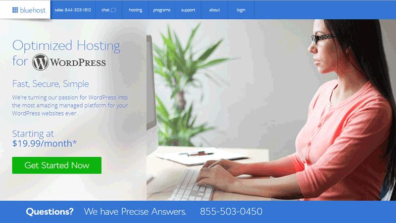 Create business website with WordPress