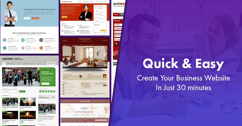 Create business website wordpress