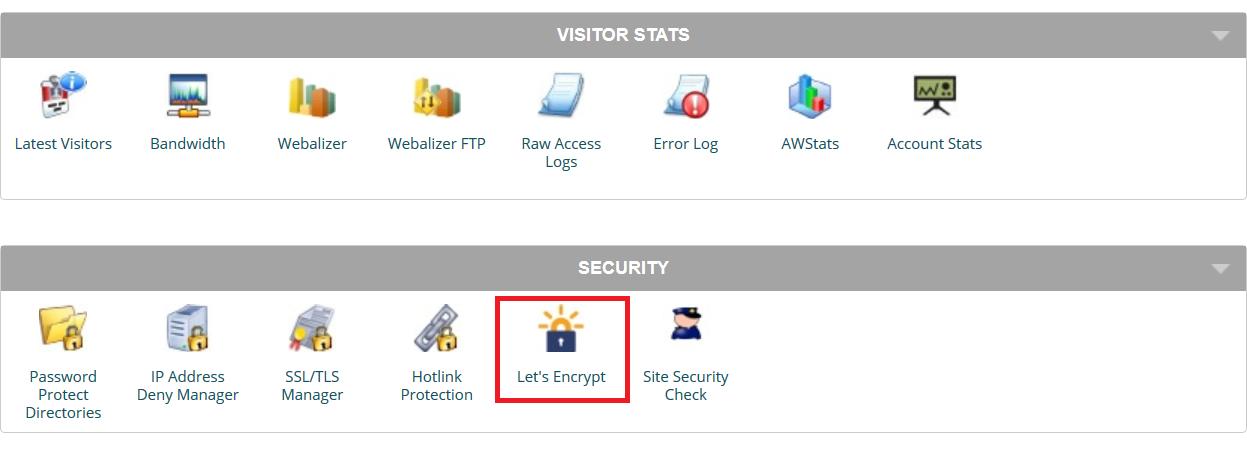 secure urls, lets encrypt