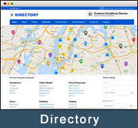 WordPress Geolocation Directory Theme