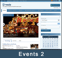 WP Events Directory Theme