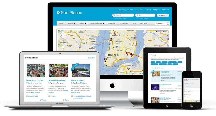 GeoPlaces WordPress Business Directory Theme