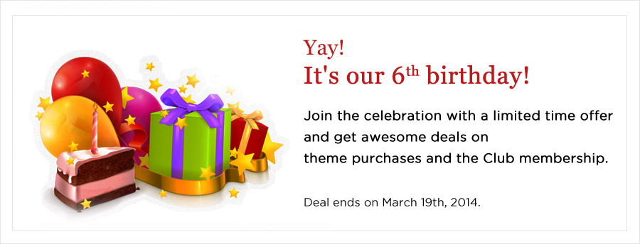 Templatic Birthday deal