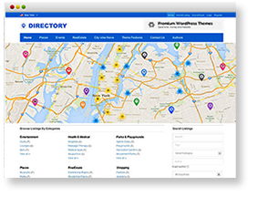 WordPress Business Directory Themes
