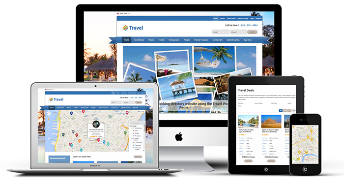 Travel Agency Business Directory Theme