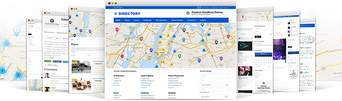 Templatic Responsive Business Directory Themes